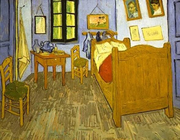 Van Gogh, la Chambre de Vincent à Arles
